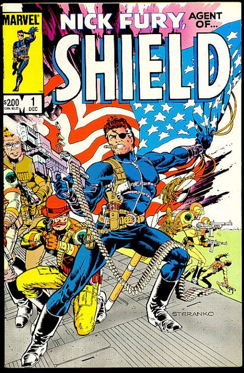 Nick Fury Agent of S.H.I.E.L.D. #1