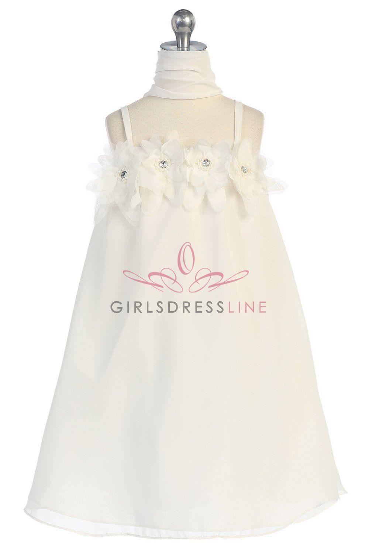Ivory Flower Girl Dresses Target