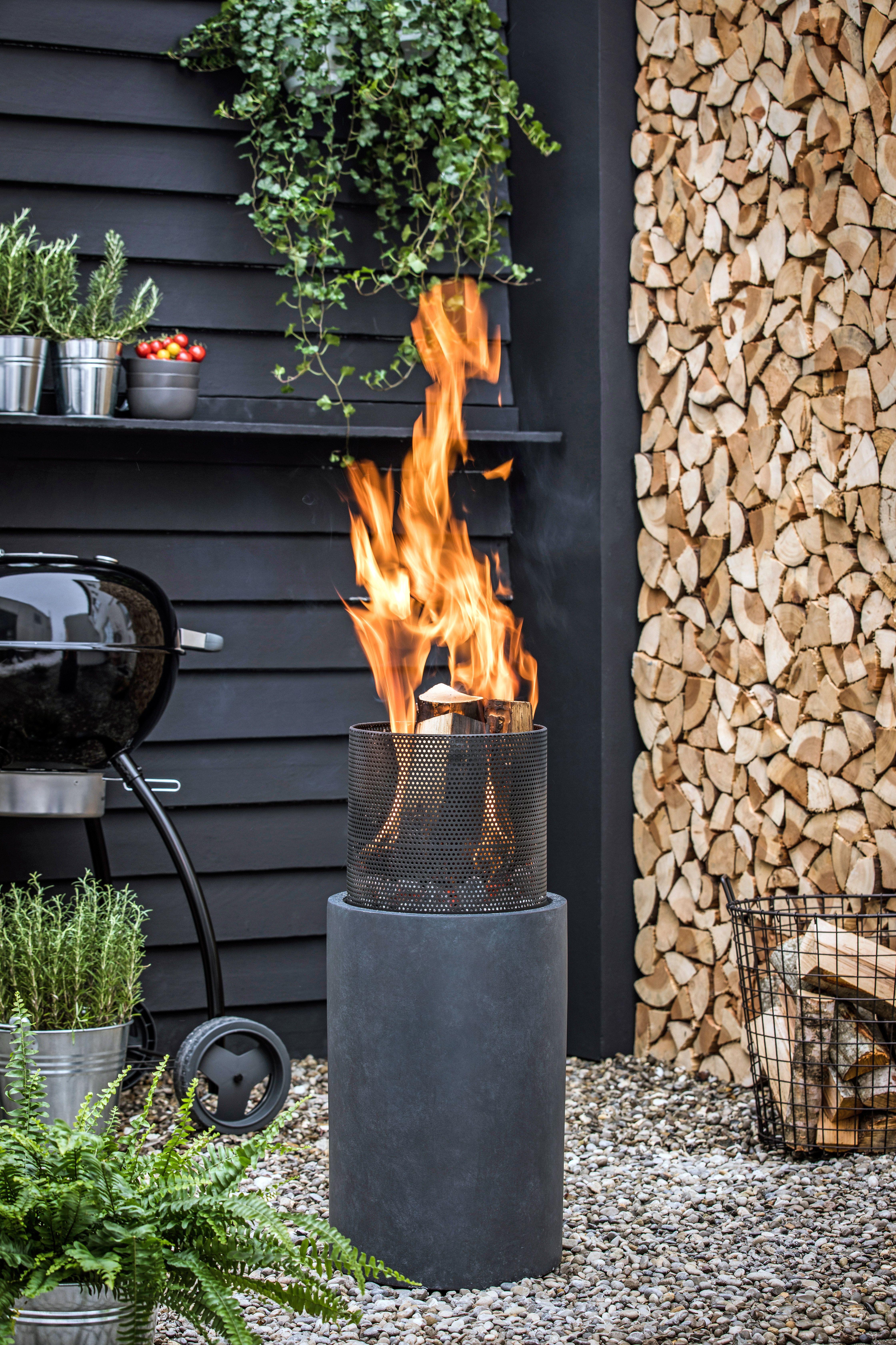 Feuerschale Fur Lagerfeuerstimmung Feuerschalen Garten Feuerschale Rustikaler Garten