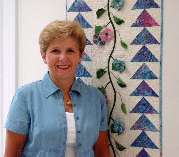 Beautiful Quilt By Joan Moore Shay