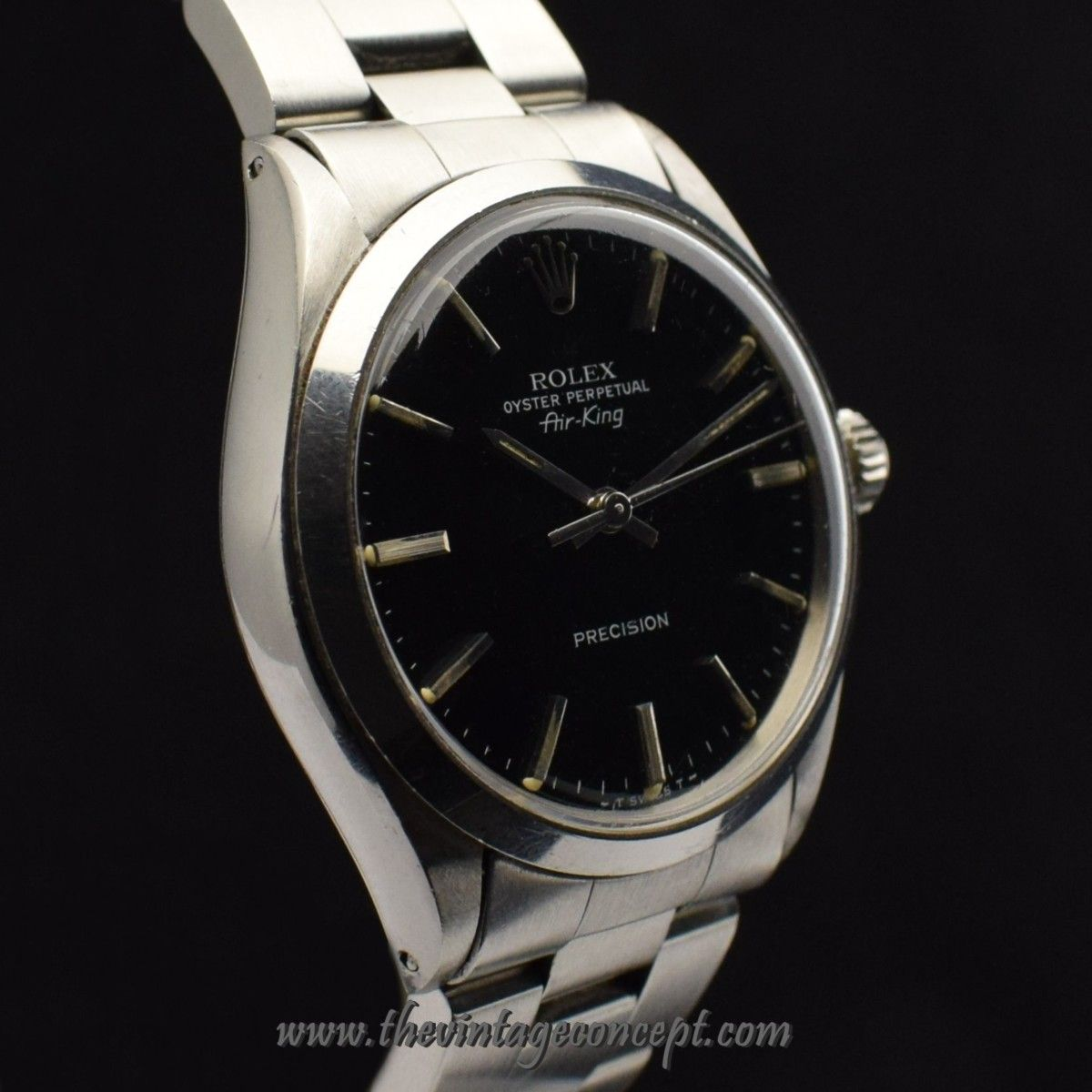 Rolex Air King Black Dial 5500 (SOLD) The Vintage
