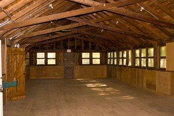 This Large Room Is The Interior Of The Dining Hall Of The