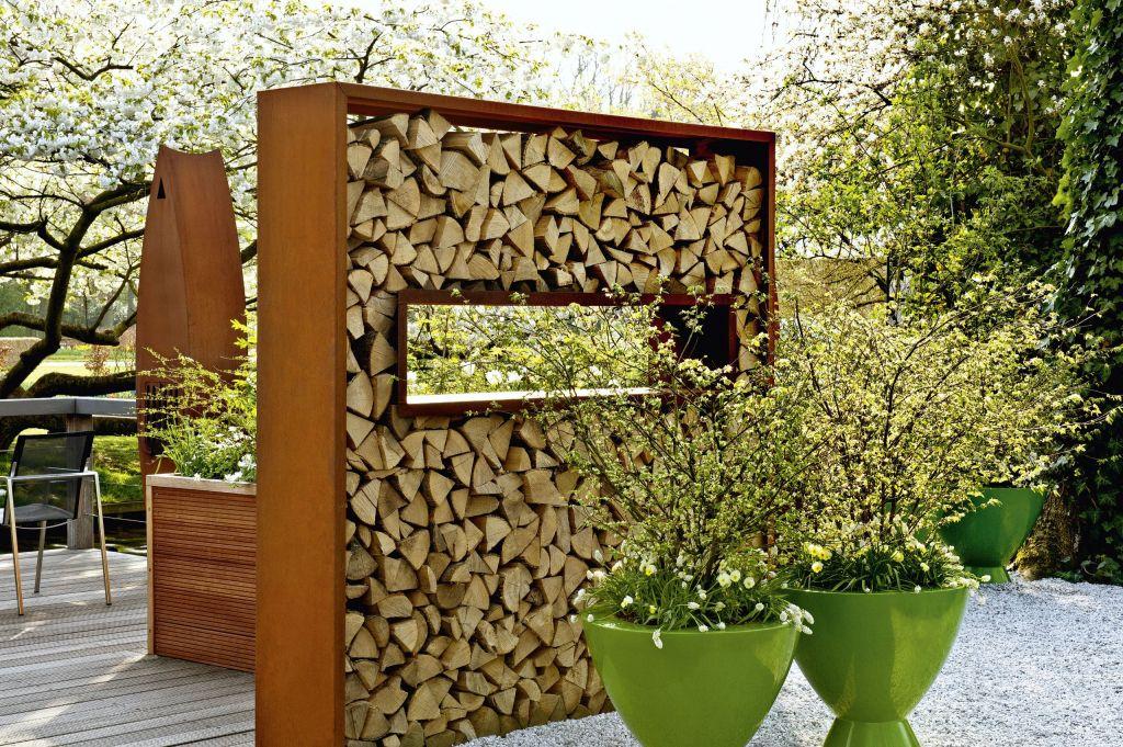 Innenarchitektur ger umiges garten gestaltung deko for Mauer terrasse sichtschutz