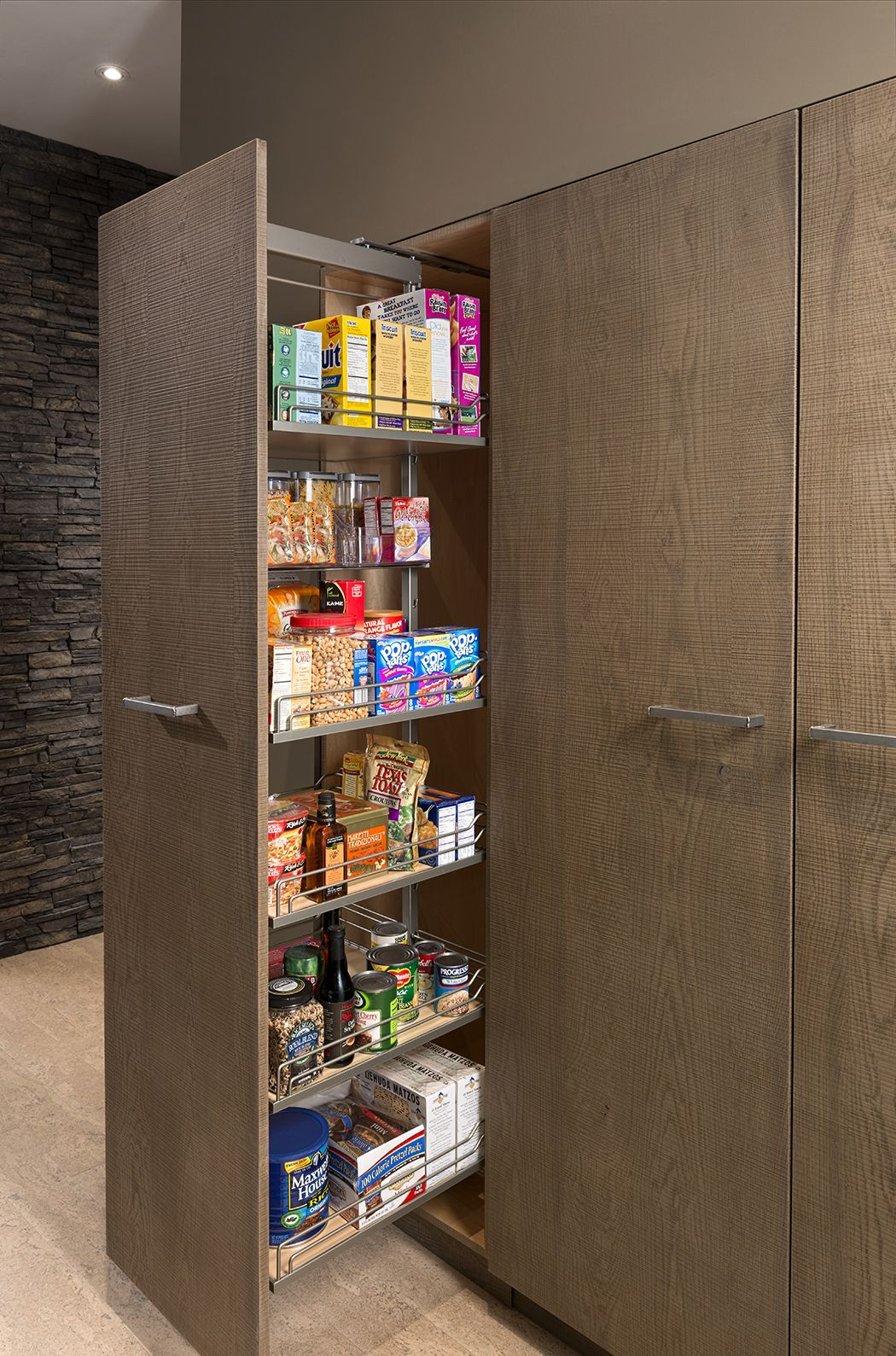 tall pull out pantry as shown in the universal elements kitchen by rh pinterest com