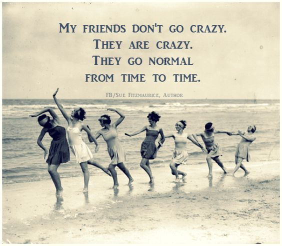 40 Awesome Friendship Quotes For An Amazing Summer Quoteburd Crazy Friends Friends Quotes Girlfriend Quotes