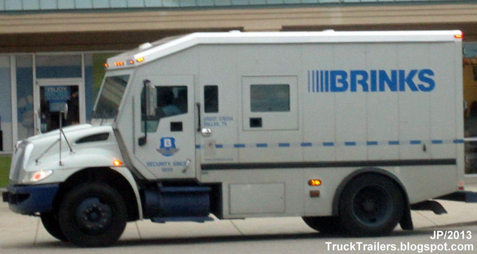Armored Bank Trucks | BRINKS Inc. Armored Car, Brinks ...