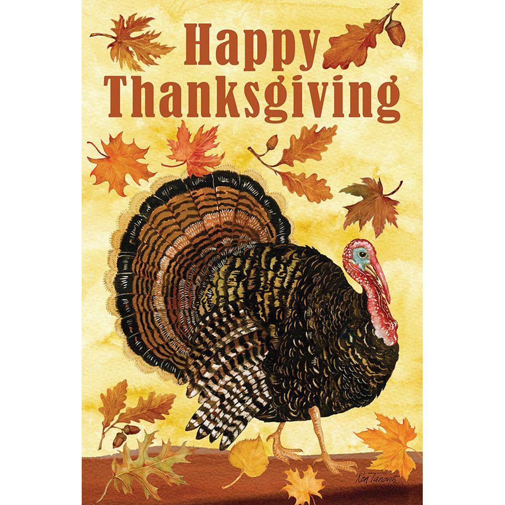 Turkey Day Garden Flag Thanksgiving House Flag Thanksgiving Pictures Thanksgiving Flag