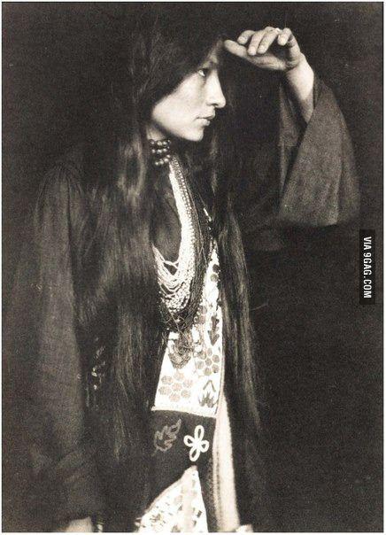 Native American woman, 1926