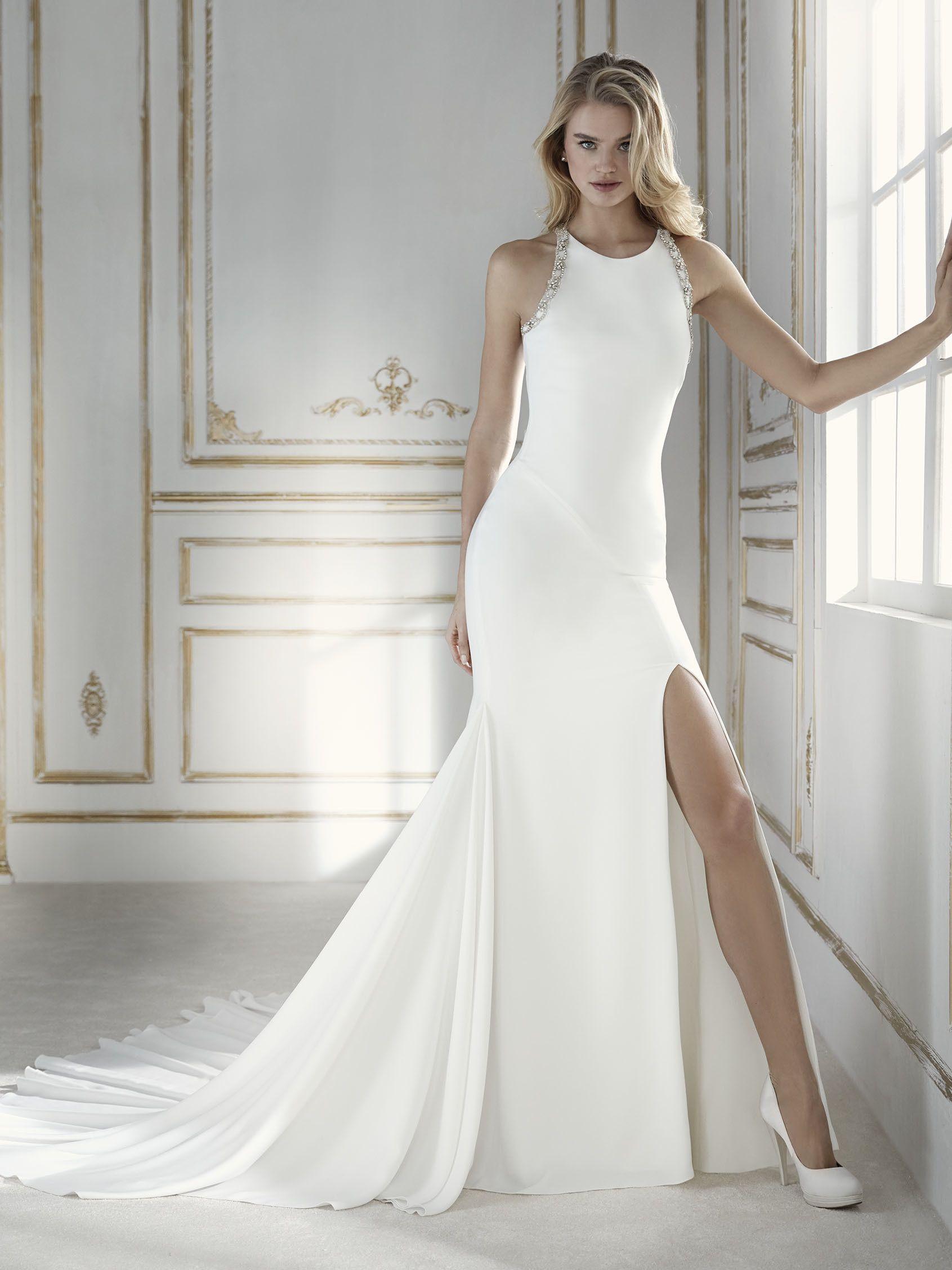 Vestidos de novia halter