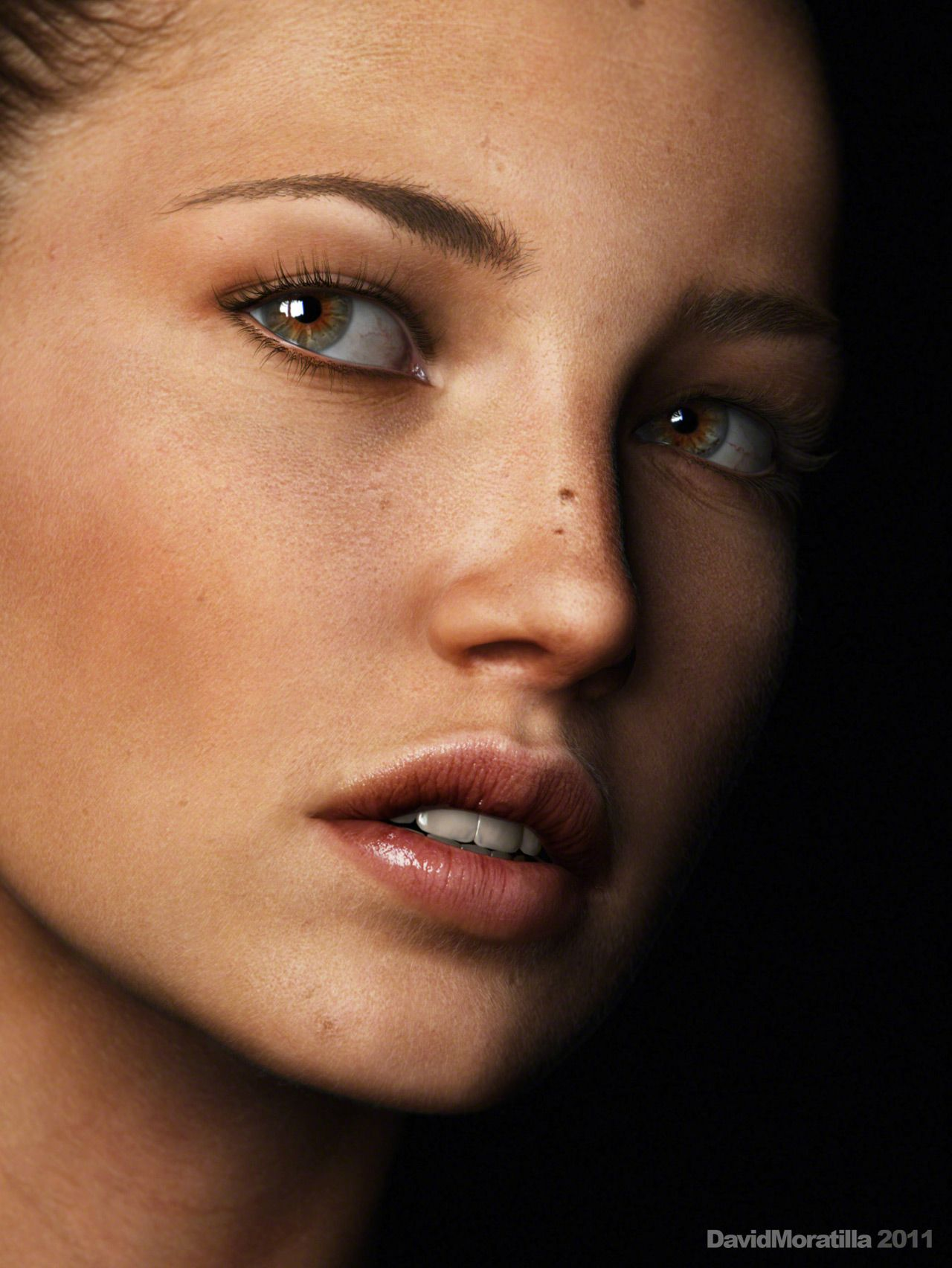 Stunning skin texture by dmoratilla using maya for the ...