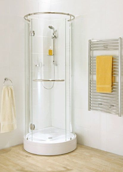 A small bathroom cabinet does not have to be dull and dull ...