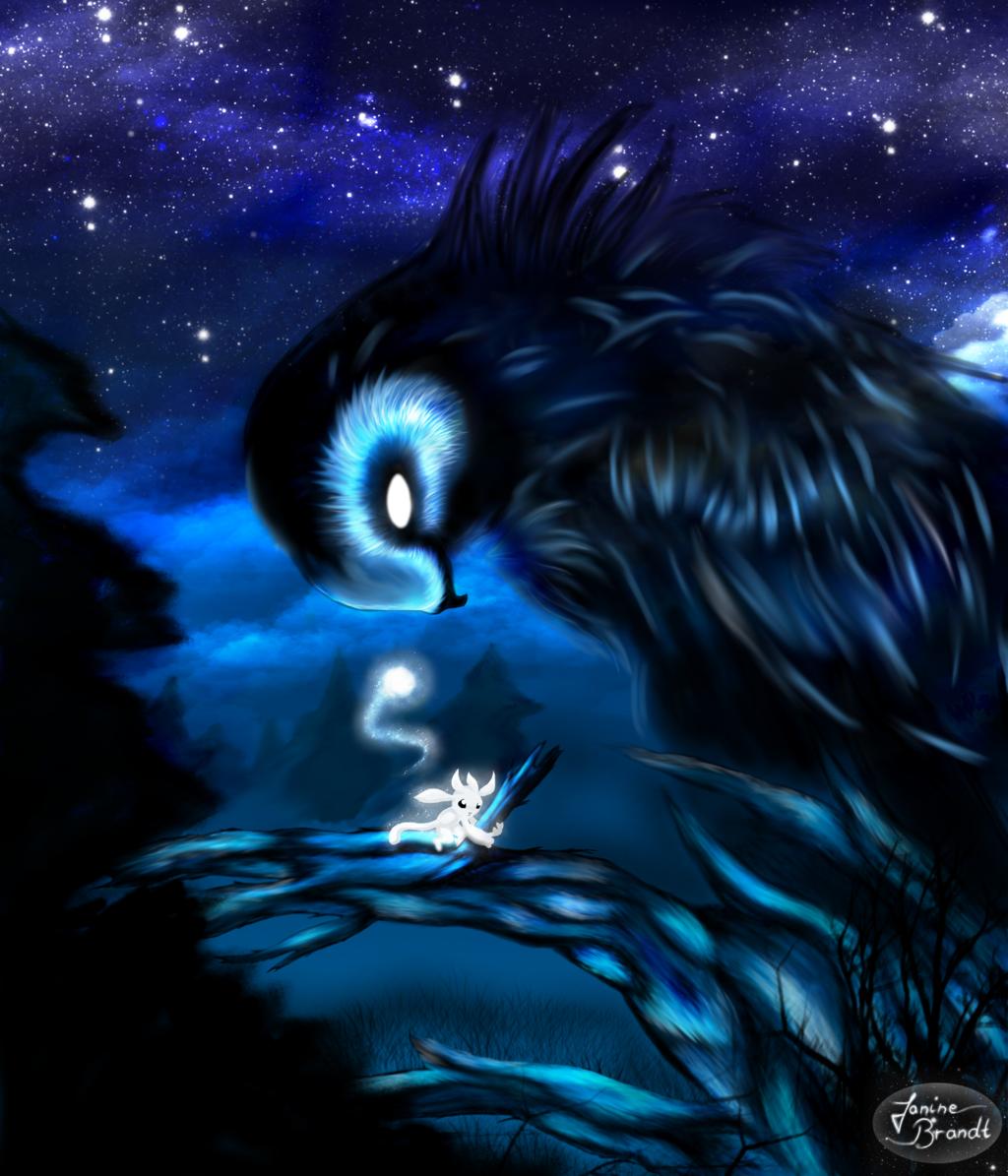 Fan Art Of Ori And Kuro By Nine-NeckFur On @DeviantArt