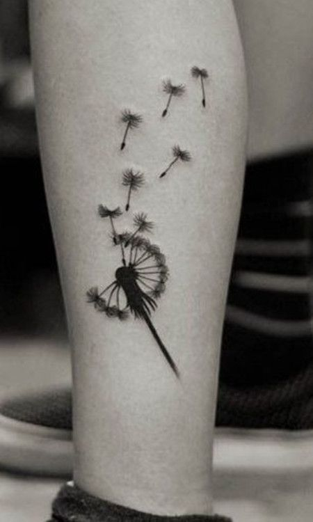 May My Love Ride The Dandelion Flying Tattoos That I Love