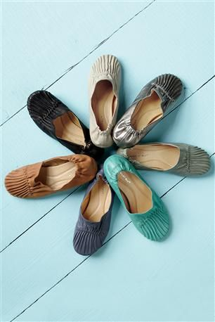 Cam Leather Flats By Chocolat Blu