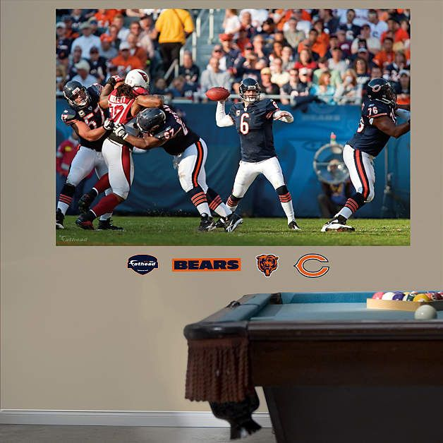 Fathead Chicago Bears Jay Cutler In Your Face   Wall Sticker Outlet Part 82