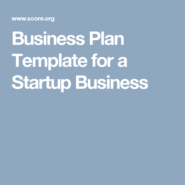 Business Plan Template For A Startup Business The Makers Space - Scoreorg business plan template