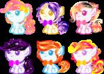 Gacha Surprise Foal Ponies 17 by YukiAdoptablesPonies