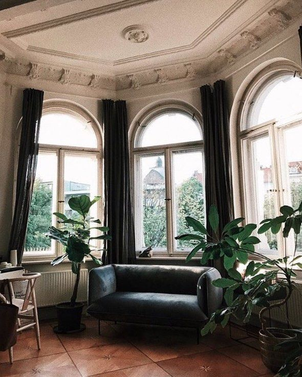 Awesome Curtain Ideas For Bay Window Living Room Eclectic: This Roundup Is Full Of Cool Bay Window Decorating Ideas