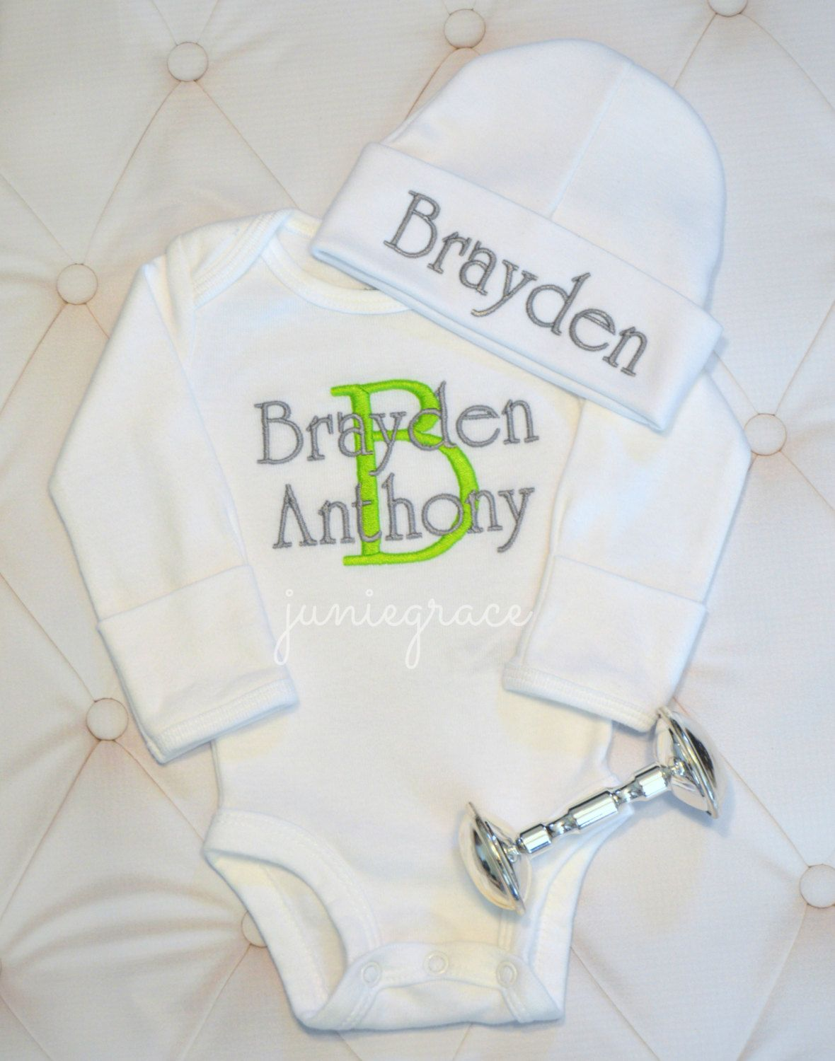 a52c57400d0 Baby Boy Coming Home Outfit Baby Boy Clothes Newborn Baby Boy Outfit Baby  Boy Hat Personalized Take Home Outfit Baby Boy Gift FREE SHIPPIN by  juniegrace on ...