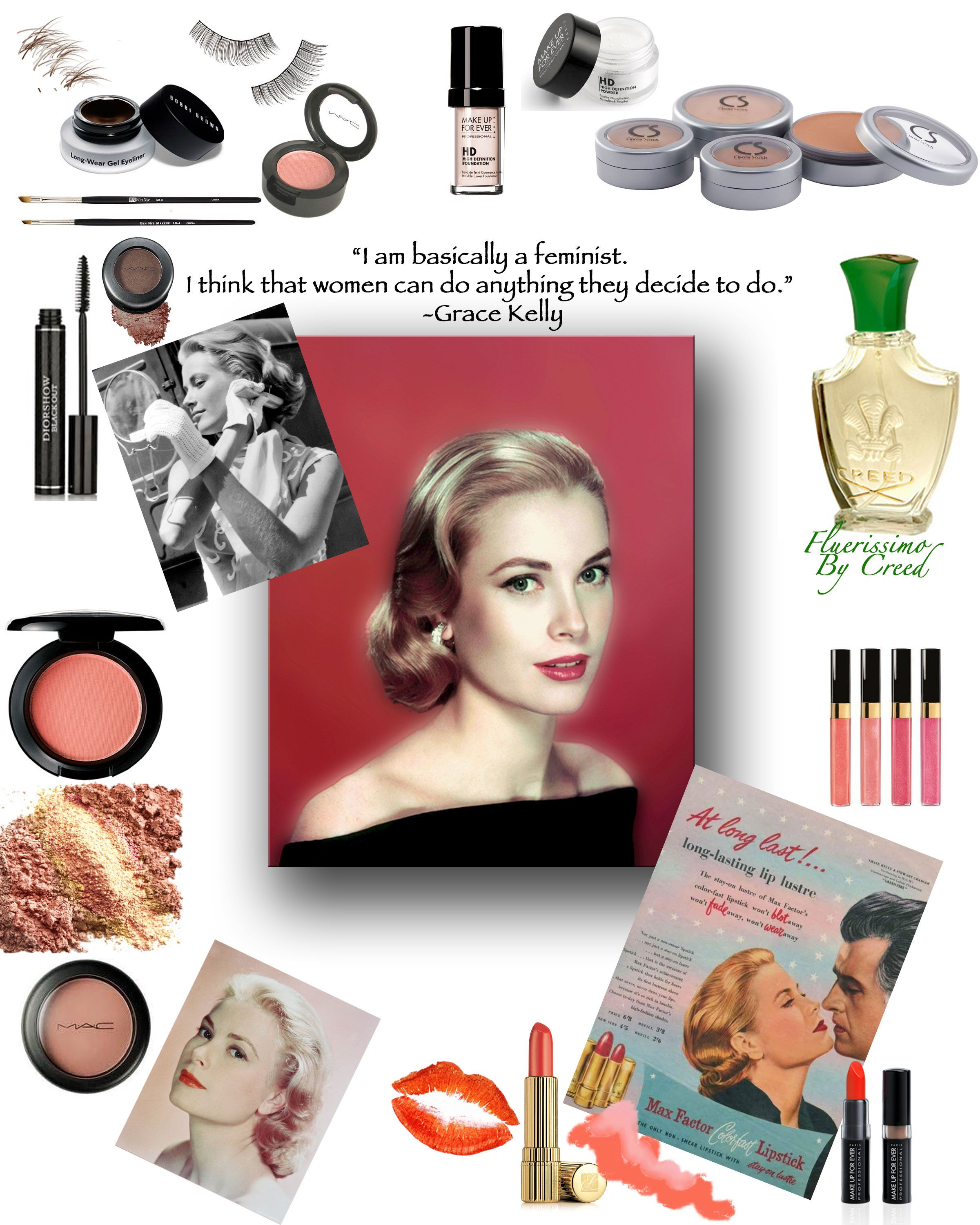 Channel Your Inner Grace Kelly Pin Up!