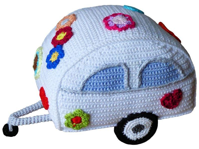 Pdf Häkelanleitung Hippie Wohnwagen Von Crochetperfect