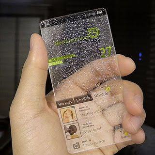 future glass phone John Masters