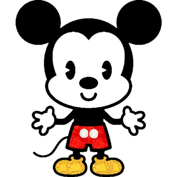 Simple Mickey Dibujos De Personajes De Disney Dibujos Kawaii