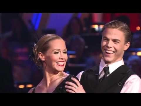 Jennie Garth and Derek Hough Week 3 Tango