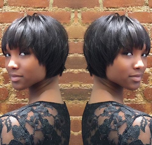 50 Most Captivating African American Short Hairstyles Short Hair Styles African American Short Cropped Hair Crop Hair