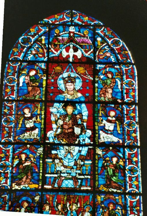 Virgin And Child And Angels Chartres Cathedral France Gothic Chartres Art History Gothic Art