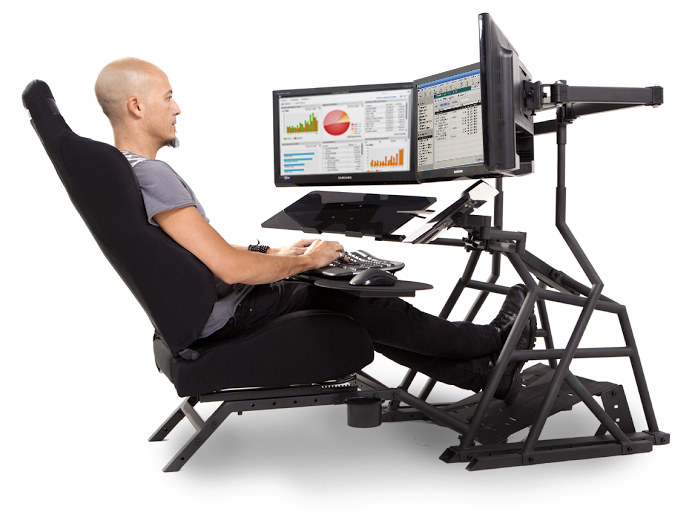 R3v Ergonomic Workstation Seating Position Office