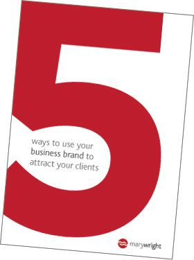 5 ways to use your brand to attract your clients #branding #business