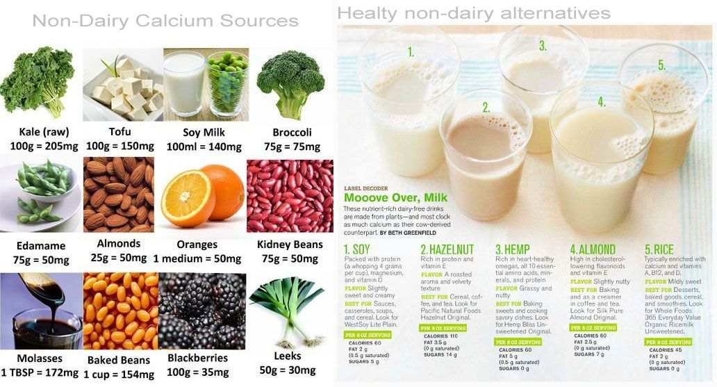 calciumrich alternatives for a better digestion and non