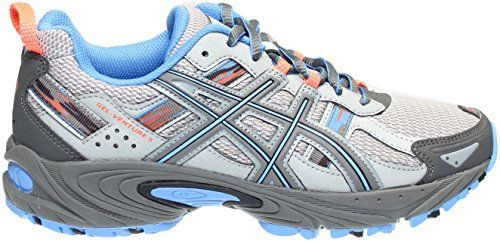 86072a5d4d ASICS Women's GEL-Venture 5,Silver Grey/Carbon/Dutch Blue... https ...