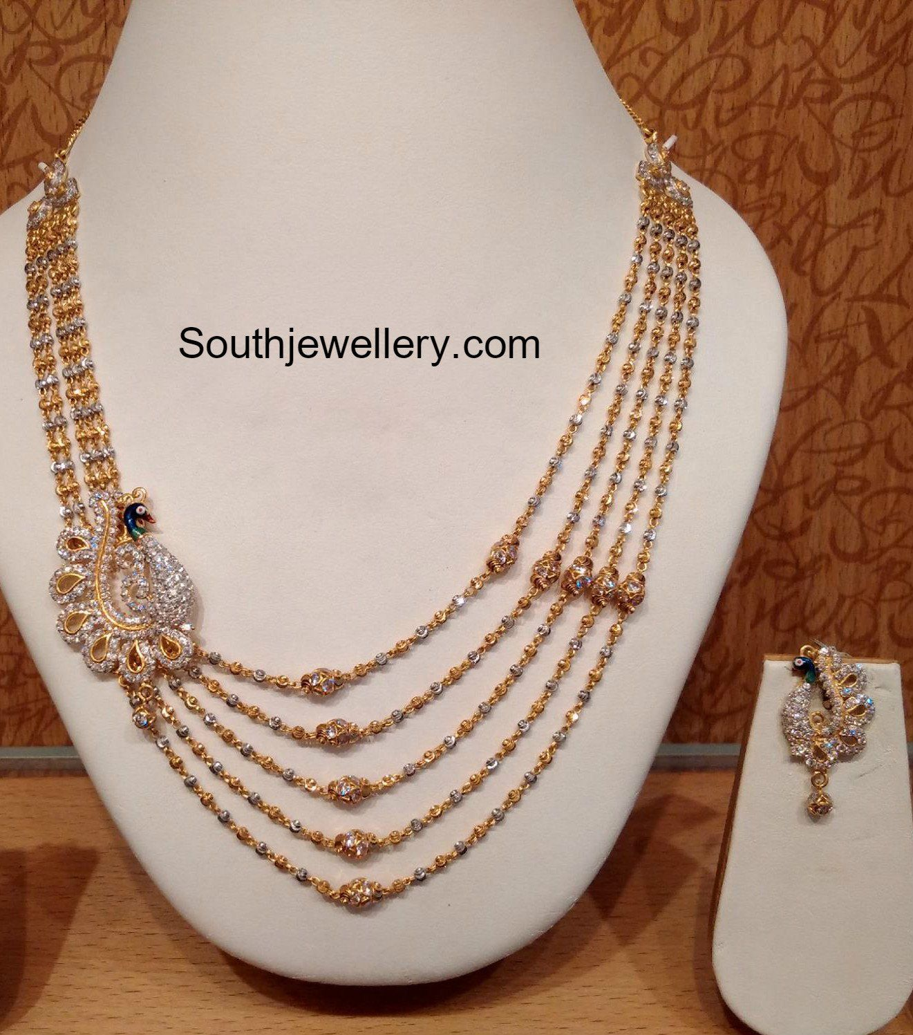 Latest gold necklace designs in grams pachi necklace latest jewellery - Gold Necklace Latest Jewelry Designs Page 2 Of 64 Jewellery Designs