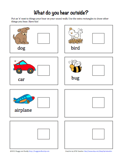 Photo of Outdoor Activities for Kids: Go on a Sound Walk (with free printable) – Buggy and Buddy