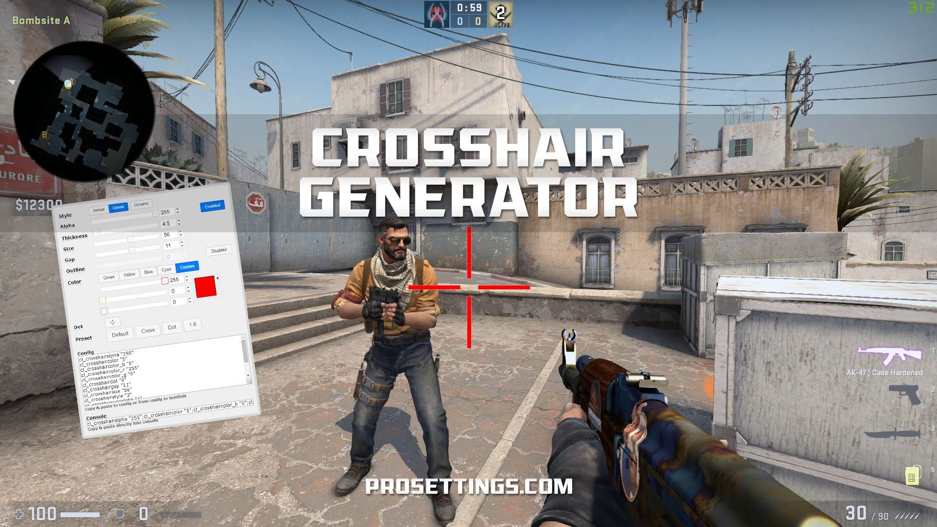 Crosshair Generator For Cs Go Prosettings Pro Tools Generation Goes Pro Tools To become a pro, you need the settings of a pro. crosshair generator for cs go