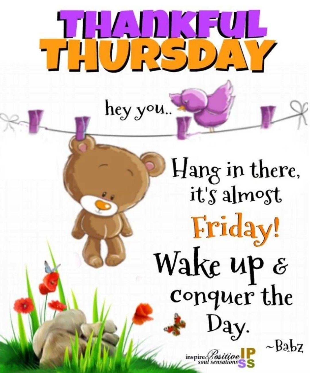 Thursday Good Morning Pinterest Thursday Thankful Thursday