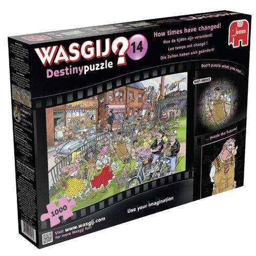 puzzel wasgij destiny 14 hoe de tijden zijn veranderd 1000 stukjes
