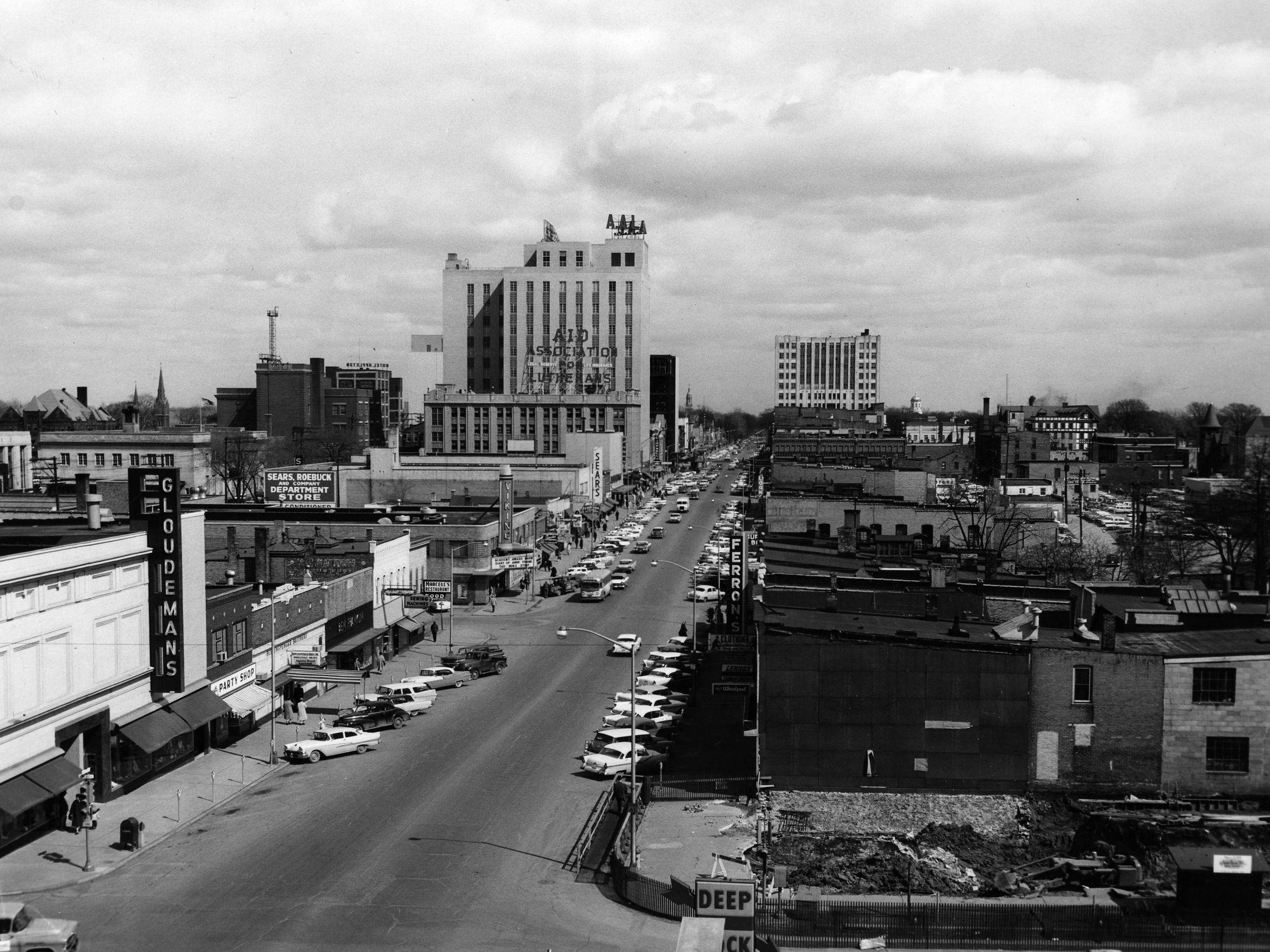 A look at downtown appleton in the 1960s appleton