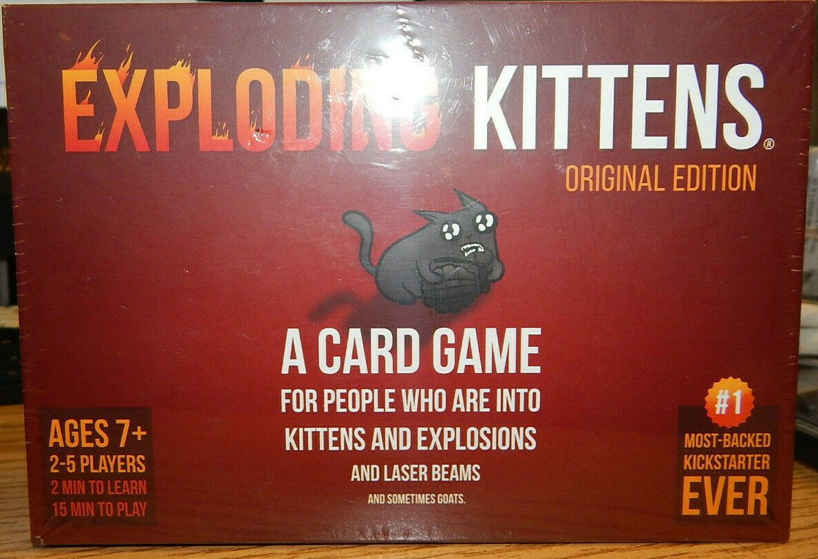 Other Card Games And Poker 2552 Exploding Kittens Original Edition Card Game Buy It Now Only 10 Card Games Exploding Kittens Card Game Exploding Kittens