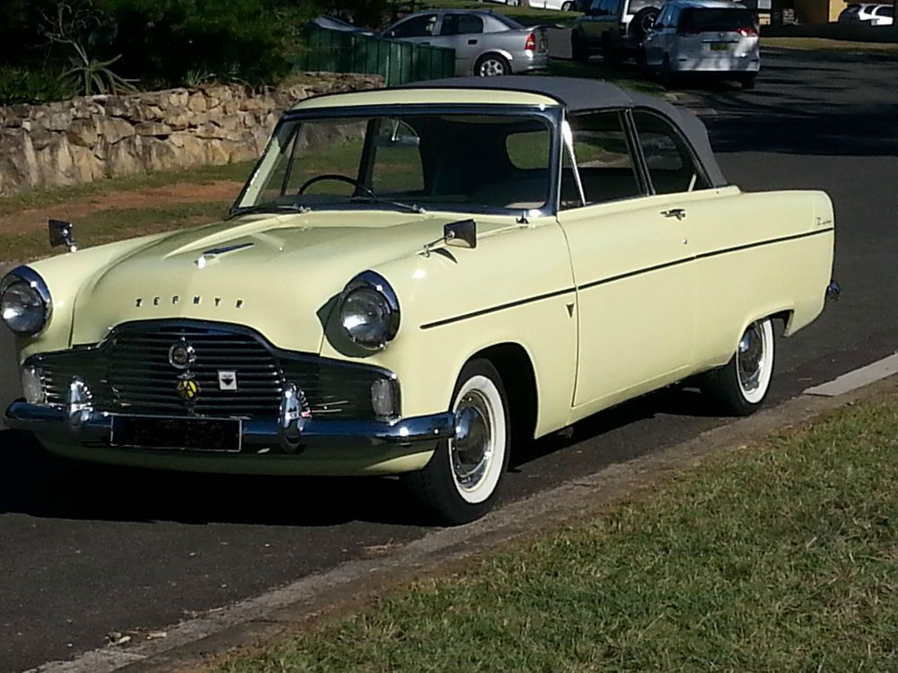 Genuine 1959 Ford Zephyr MkII Factory Convertible - may take part ...