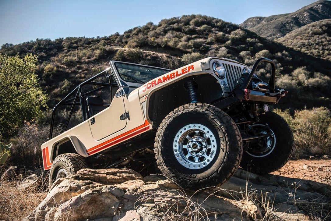 Jeep scrambler by winslow bent car substance