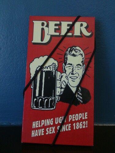 Livreto de Bolso retrô beer