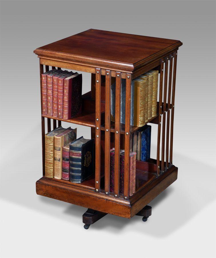 Antique Revolving Bookcase Bookcases In 2019 Revolving