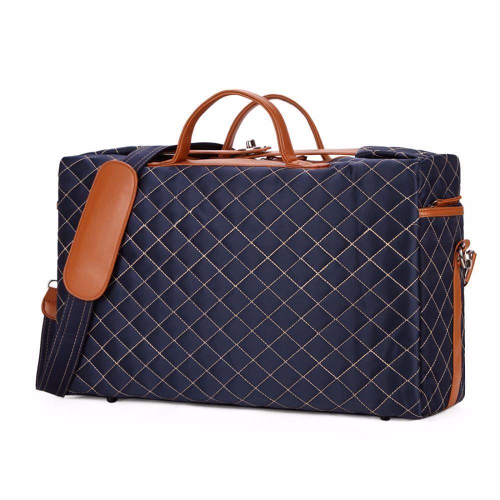 75d0c8e458 Unisex Luxury Large Men Travel Bag Burglarproof Rotary Buckle Fashion  Travel Bag