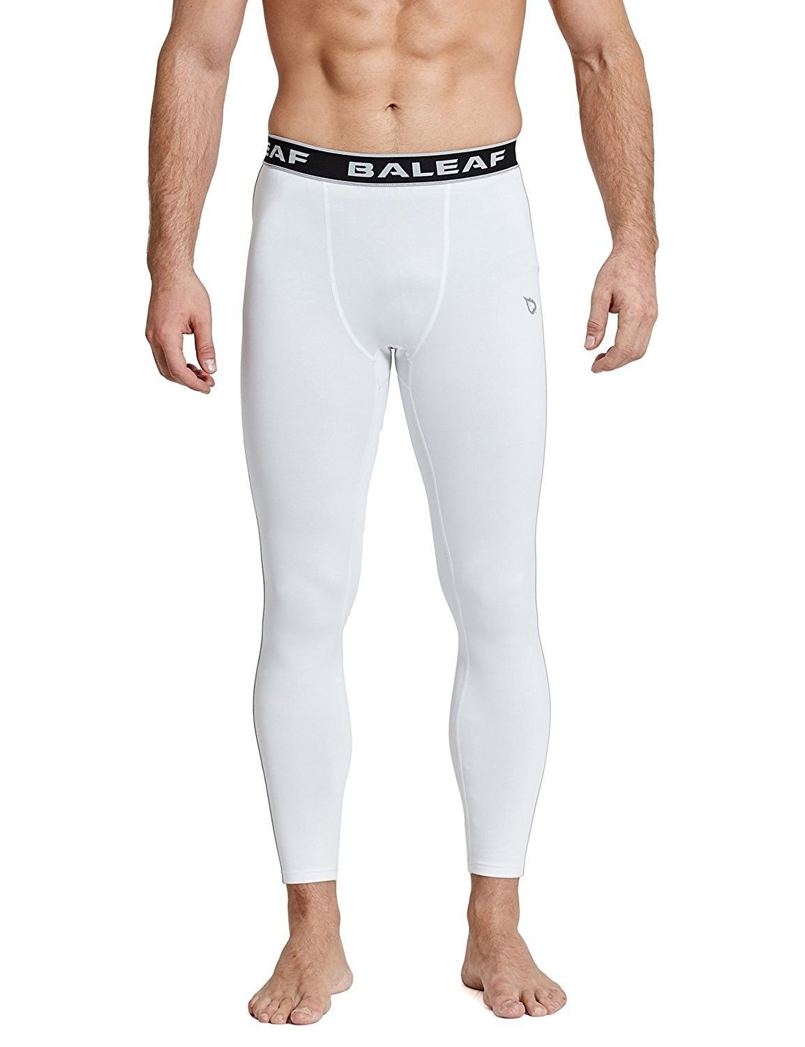 b4f0a0511c3f6 Men's Clothing, Active, Active Pants, Men's Thermal Compression Baselayer  Tights Fleece Lined Pants - White/Gray - CK1883S432N #men #fashion  #clothing ...