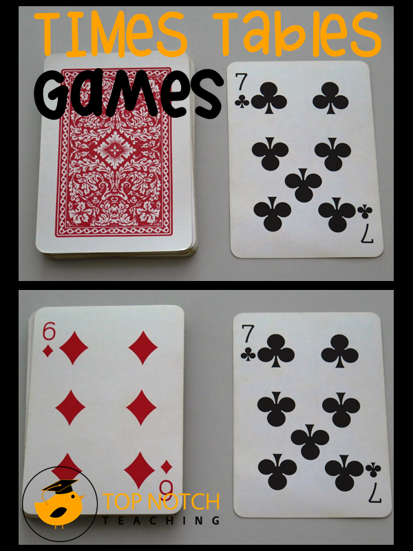 Card Turnover Math Game Fourthgradefriends Pinterest Math