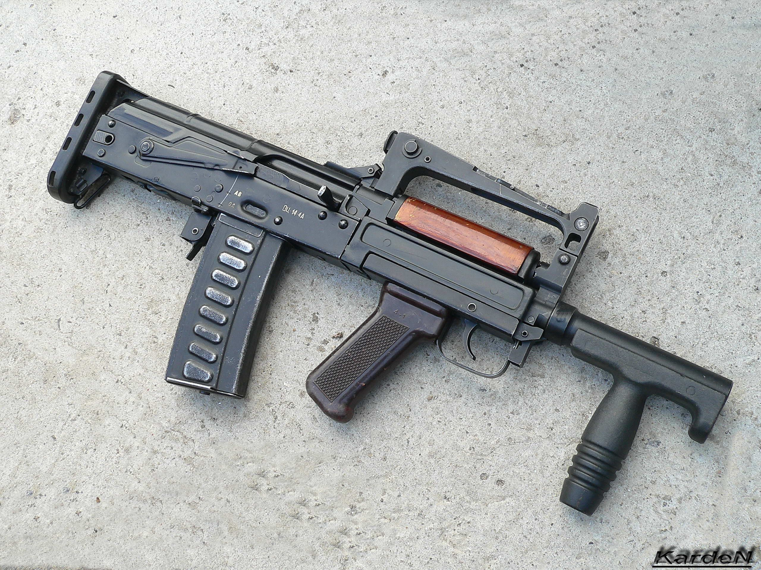 Russian OTs-14 Groza | Unique, Rare or Exotic Weapons | Pinterest ...