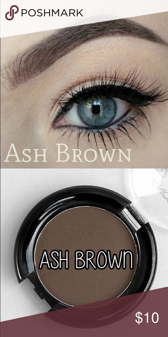 Ash Brown Eyebrow Powder Stencil Enables You To Have Natural
